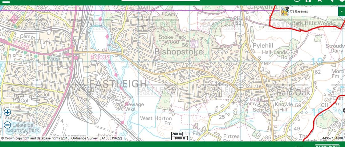 Interactive Map Of Uk.Interactive Maps Of The Borough Of Eastleigh