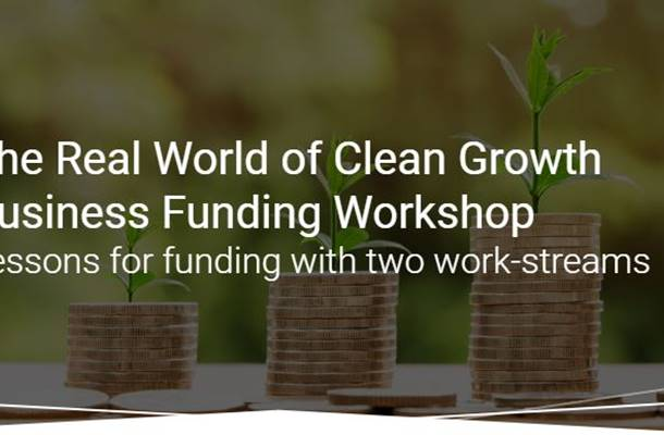 Clean Growth Workshop