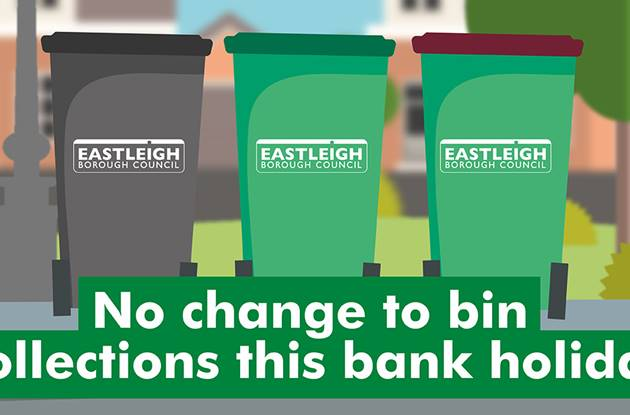 NO CHANCE TO BIN COLLECTIONS THIS BANK H 14