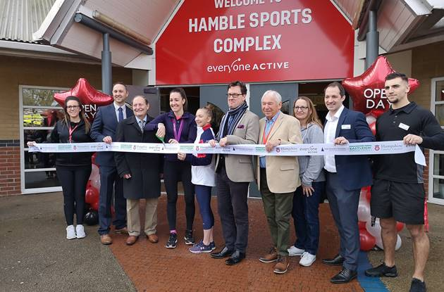 Hamble Sports Complex Opening