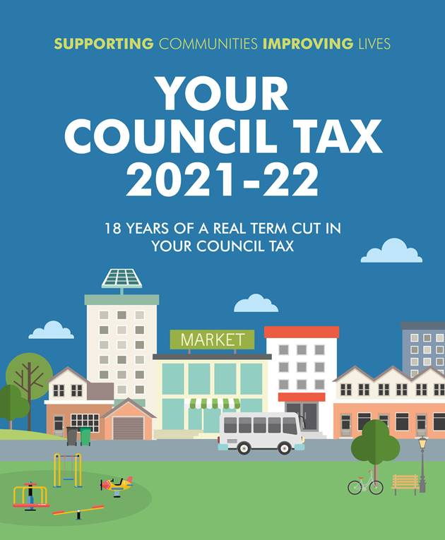 Council Tax Leaflet 2021 22