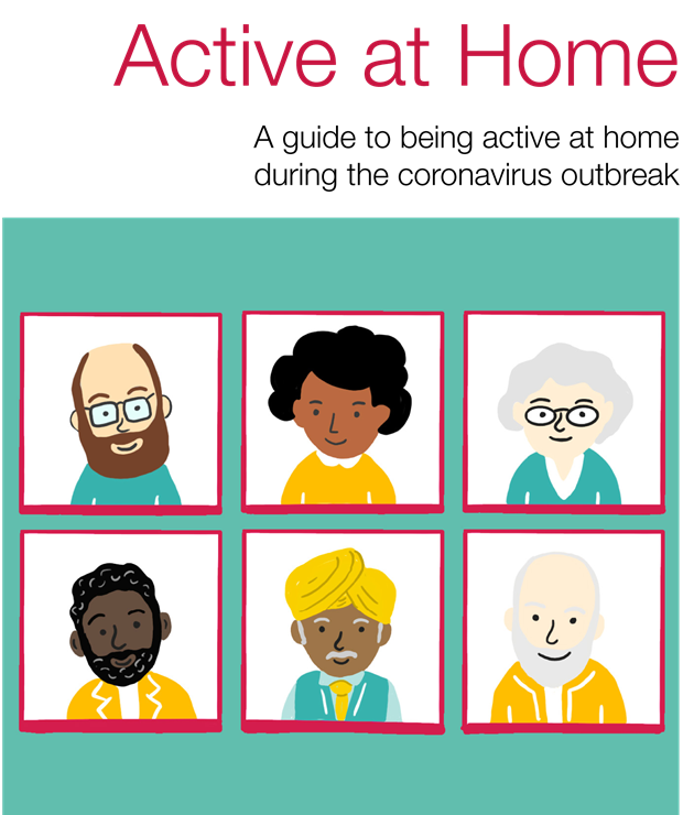 PHE Active At Home Booklet Front Page